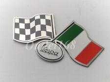 Piaggio Vespa Super Sprint GL Rally SS Italy Flag Emblem Badge Logo SelfAdhesive