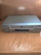 GE General Electric VG4250 VCR Hi-Fi Stereo 4 Head Player VHS Recorder - Tested