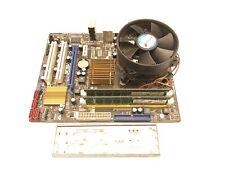 BUNDLE Asus P5QPL-AM SOCKET LGA775 Motherboard + E8400 CPU + 4GB RAM