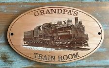 Personalized Western Maryland  SHAY Engraved Sign - ANY NAME