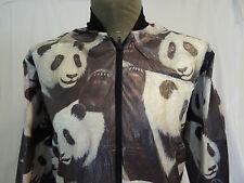 Vintage 90s PRIDE Panda Bear Tyvek Windbreaker Jacket Sz M NOS Rare