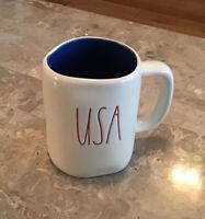 New Rae Dunn USA  Mug