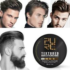 Hair Clay Wax Strong Hold Hair Gel Wax For Men Long Lasting Dry Stereotypes 50ml