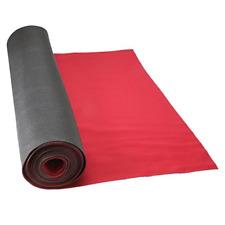"""Floor Runner Neoprene  27"""" x 20' Red - Reusable Roll"""
