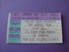No Doubt  Deftones Sublime 8/14 1995 Warped Tour Tampa Fl Concert Ticket Stub