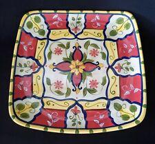 """Pier 1 VALLARTA Square Serving Platter Ceramic 13 1/8"""""""