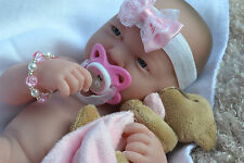 PJs WoW ❤️ BERENGUER LA NEWBORN ❤️ MANY EXTRAS  BABY GIRL DOLL FOR REBORN / PLAY