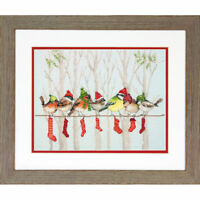 Dimensions Counted Cross Stitch Kit - Winter Gathering Christmas