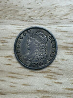 1830 Philadelphia Mint Silver Capped Bust Half Dime, 2/26/21, Free Shipping