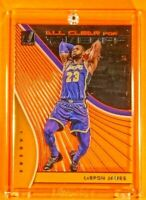 All Clear for Takeoff LeBron James Lakers Spectacular Ultra Rare Acetate Insert
