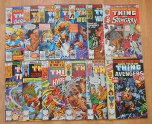 Marvel Two-In-One 13 Issues Between 38 & 75: Good Condition