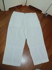 sportscraft white linen pants