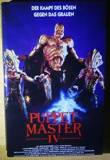 Puppet Master 4 / IV (DVD) Gr. Hartbox / Buchbox - Lim 50er AVV