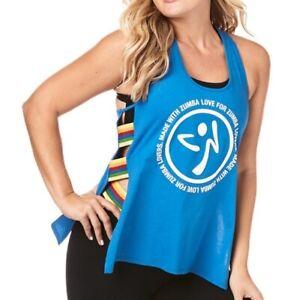 Zumba Activewear Fitness Training High Neck Tank Top Graphic Dance Sportbekleidung Damen