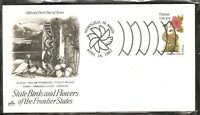 US SC # 1963 State Birds And Flowers ( Hawaii ) FDC. Artcraft Cachet .