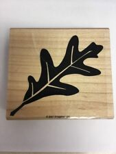 STAMPIN' UP! Leaf Rubber Stamp NEW 2007