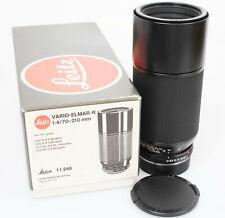 Leitz Leica Vario - Elmar R 70 - 210  mm 1 :  4  3cam  A-condition BOX