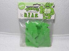 Vintage 1990 Teenage Mutant Ninja Turtles Set of 4 Cookie Cutters TMNT NEW