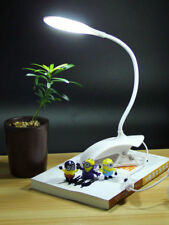 Modern Adjustable Clamp Clip on LED Craft / Reading Table Desk Lamp Light White