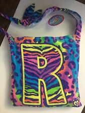 """NWT JUSTICE BEACH TOWEL IN A BAG INITIAL """"R"""" ONE-SIZE 6 7 8 9 10 12 14"""