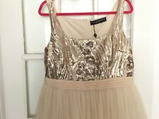Little mistress ballerina style sequin embellished dress size 14 bnwt