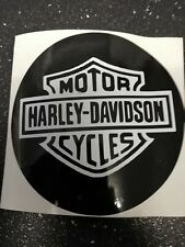HARLEY DAVIDSON  - Car Tax holder Bumper Sticker VINYL DECAL FREE POSTAGE
