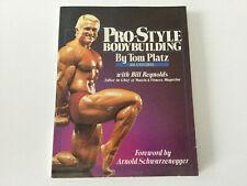 Pro-Style Bodybuilding by Tom Platz - Signed Book