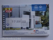 Netherlands Het Rietveld vijfje 5 euro 2013 Fdc Coincard First Day Issue