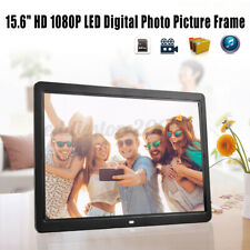 15.6''HD LCD Digital Photo Frame Picture 1080P MP4 MP3 Player Remote