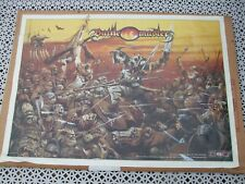 More details for battle master children film poster, illustration and lettering chris achilleos
