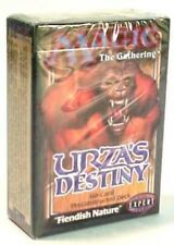 Urza's Destiny Theme Deck Fiendish Nature (ENGLISH) SEALED NEW MAGIC ABUGames