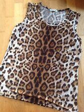 Haut Tee Shirt Tunique Debardeur Xxl Leopard Moding Recent Strech Sauvage