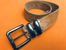 Banana Republic Brown Vintage Leather Belt Size 28 USA