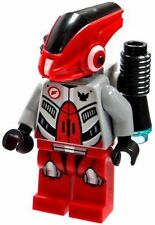 Lego Galaxy Squad Red Robot Sidekick Minifigure with Jet Pack 70708 new
