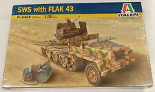 Italeri 1/35 SWS with Flak Model Kit 6480