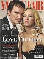 Vanity Fair Magazine Quentin Tarantino Uma Thurman Luca Dotto Natalie Portman