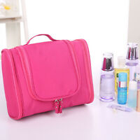 3 Colors Travel Cosmetic Makeup Bag Toiletry Case Hanging Pouch Wash Organizer
