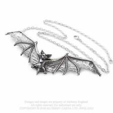 Alchemy Pewter Pendant - Gothic Bat Necklace Mystic Wicca Pagan Witch
