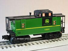 LIONEL JOHN DEERE ILLUMINATED O GAUGE CABOOSE train nothing runs like a 6-81480