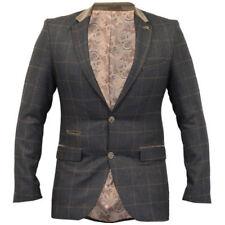 Cappotti e giacche da uomo marrone con bottone, taglia 48