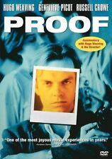 NEW DVD // Proof  // Hugo Weaving, Genevieve Picot, Russell Crowe, Heather Mitch