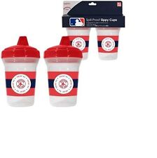 BOSTON RED SOX BABY 2 PACK SIPPY CUP NEW & OFFICIALLY LICENSED BPA FREE