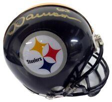 Dermontti Dawson Autographed Pittsburgh Steelers Mini Helmet - SCC COA