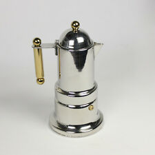 Stainless Steel Express Heat Moka/Latte Coffee Maker Pot 2-4 Cups HJ116