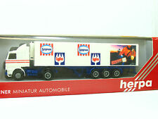 "Herpa 1:87 (843014) Scania Kühlkoffer-SZ ""Langnese / Iglo""    (SZ 2736)"