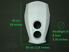 streetfighter mask custom motorcycle headlight universal moto light fairing nr5