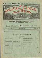 the philatelic journal of great britain . august 1939