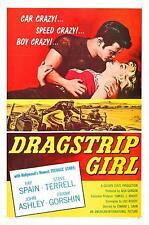 """Dragstrip Girl Poster 16""""x24"""""""