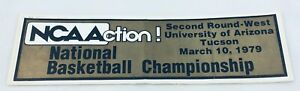 NCAA 1979 03/10 National Basketball West Championship Bumper Sticker-Arizona