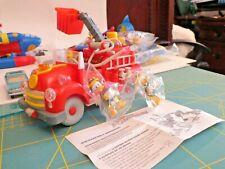 Donald Duck Fire Engine Paperino camion pompieri Disney perfetta e completa